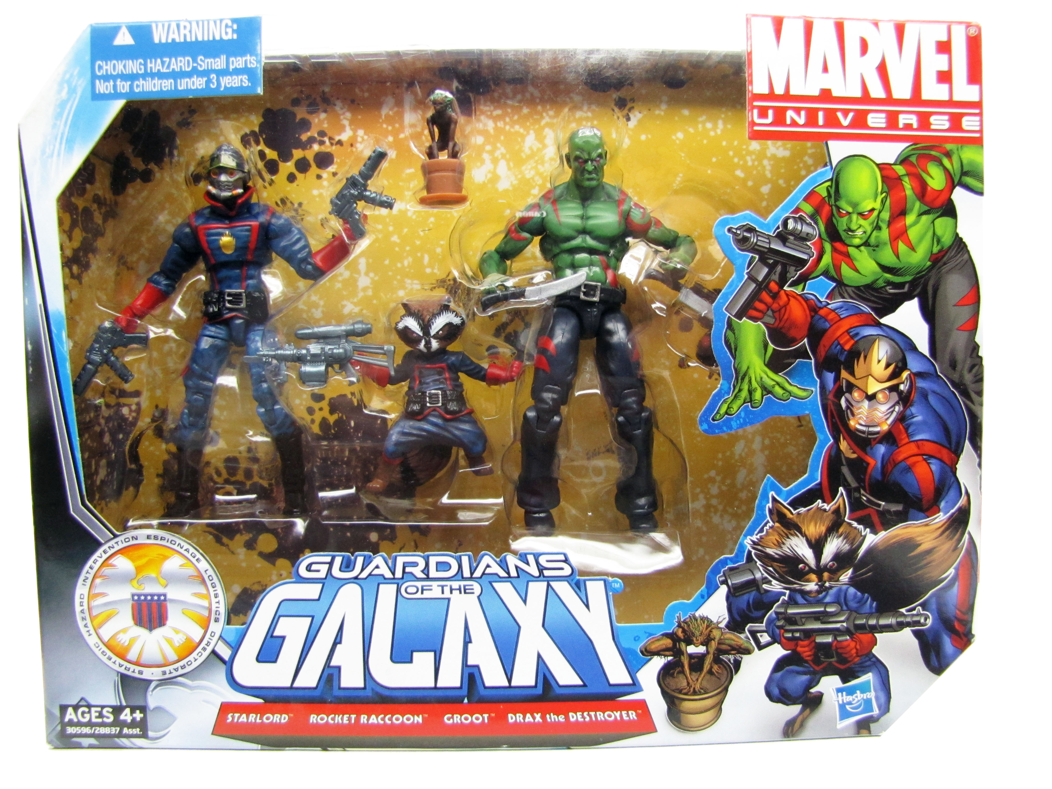 Marvel Universe Comic Series Guardians of the Galaxy 4 Pack